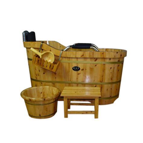 vasca da bagno portatile sauna portatile vasca da bagno con manico in legno id