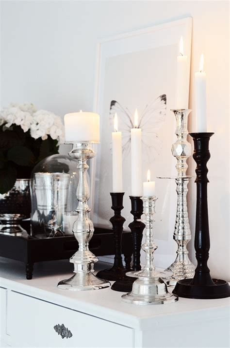 Mercury Glass Home Decor by I Like The Mix Of Black And Mercury Glass A Interior Design