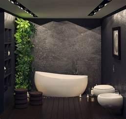 Merveilleux Panneaux Muraux Pour Salle De Bain #1: revêtement-mural-salle-bain-enduit-déco-motifs-floraux.jpg