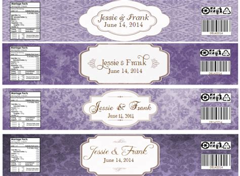 Water Bottle Labels Weddingbee Photo Gallery Wedding Water Bottle Labels Template Free