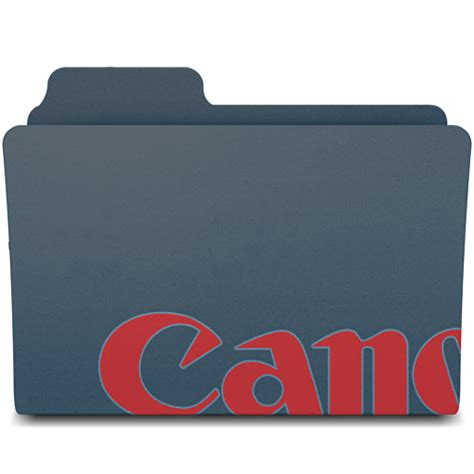 canon utility canon utilities folder icon by fbmafu