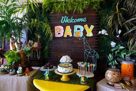 Animal Safari Baby Shower Decorations by Kara S Ideas Safari Animal Baby Shower Kara S