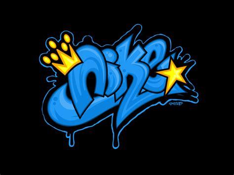 design logo grafity nike graffiti wallpapers wallpapersafari