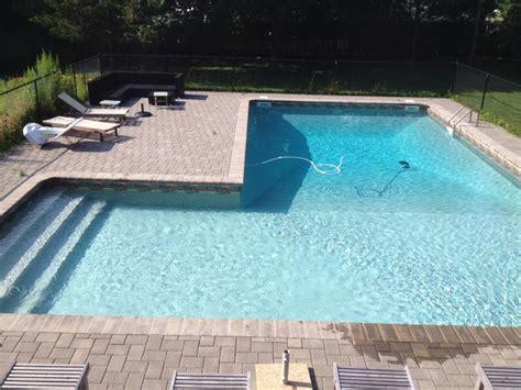l shaped pool designs chituk pools ltd
