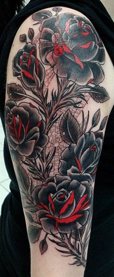 spider rose tattoo best 20 spider ideas on