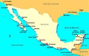 Ixtapa Mexico Map by Ixtapa Mexico Discount Cruises Last Minute Cruises