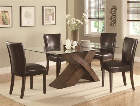 glass table dining room sets coaster dining room set price upon request call 631 742