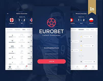 mobile eurobet eurobet mobile app free psd on behance