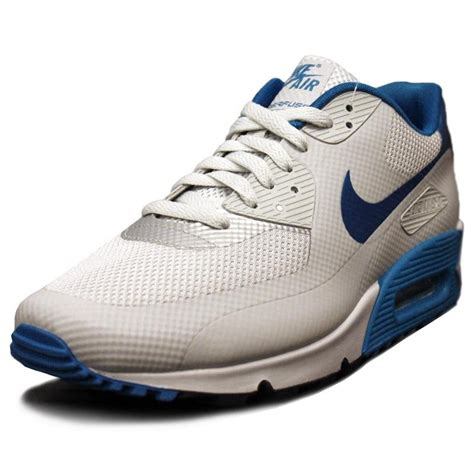 nike air max  premium hyperfuse blue white sneakers