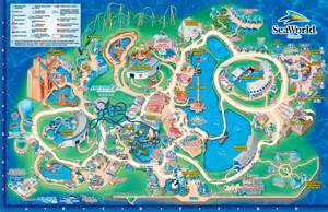 theme parks florida map seaworld orlando theme park map orlando fl mappery