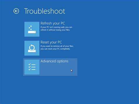 windows 8 reset password in safe mode enter safe mode in windows 8 consumer preview