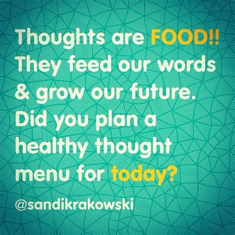 food for thought the words