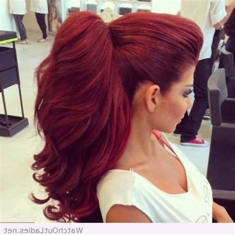 cherry red hair color for dark hair 17 best images about