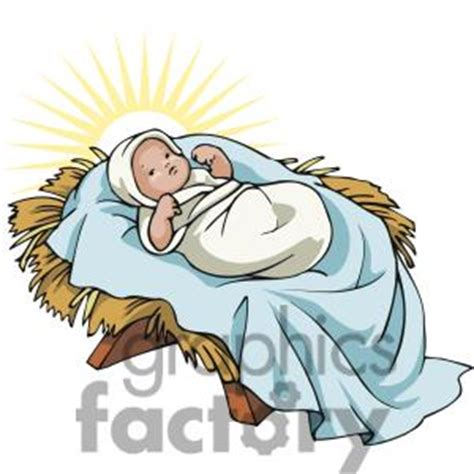 baby jesus clipart baby jesus in manger clipart free 101 clip