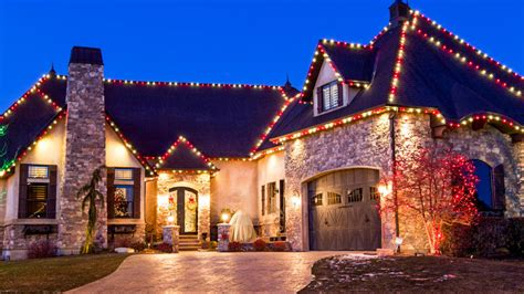 home improvement christmas lights 7 tips for holiday lights and decorations on your roof