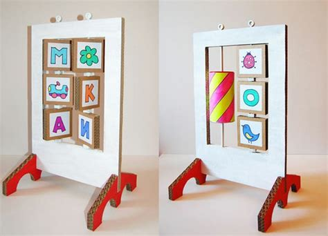 My Abc And My 123 Mini Board Book 5 amazing toys you can make from cardboard inner child
