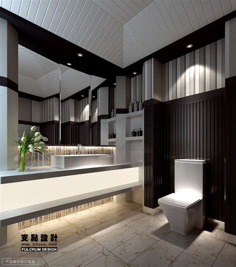 Modern Black And White Bathrooms Contemporary Black And White Bathroom Decozilla