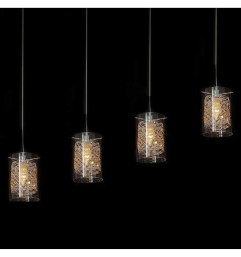 4 light pendant light design pendant light 4 glass metal camelia