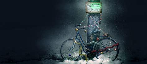 wonderful christmas decorations   bicycle parts welovecycling magazine