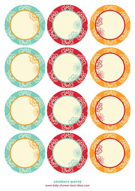 cupcake topper template free printable baby shower templatesbaby shower best ideas
