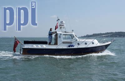the boat development co ltd ppl photo agency seaward 25 smudger owned by tv