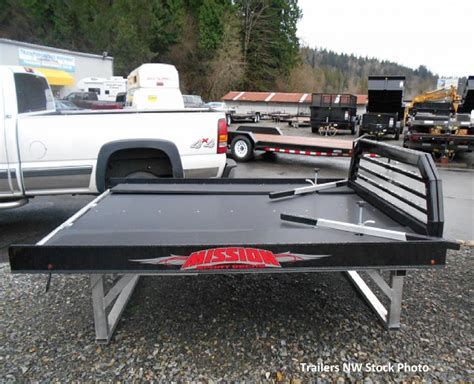 truck bed deck 2018 mission sled deck sport deck truck bed trailers