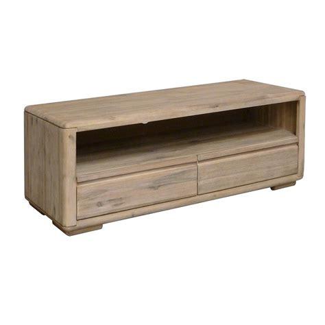 meuble tv acacia meuble tv en bois exotique jo 235 lle salon ethnique design