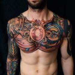 Avengers Drapes Chest Tattoos For Men Men S Tattoo Ideas