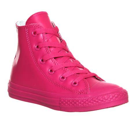 converse ctas hi rubber 10 2 cosmos pink unisex