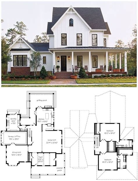 farmhouse home plans best 10 farmhouse floor plans ideas on