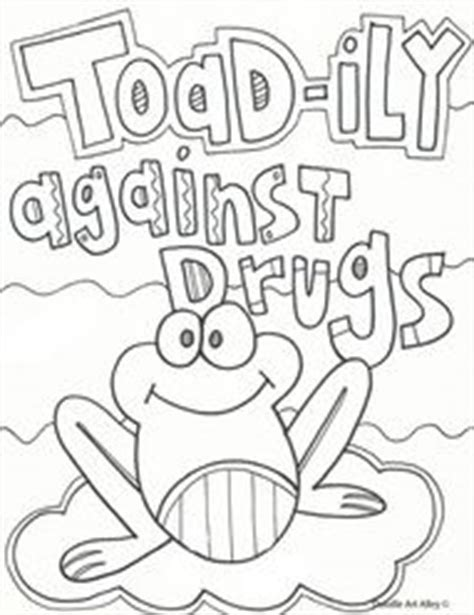 coloring pages for drug free week red ribbon week flyer spirit days ideas pta resources