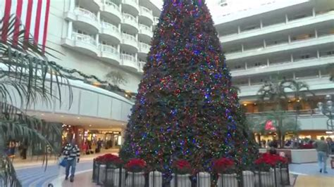 orlando airport christmas tree youtube