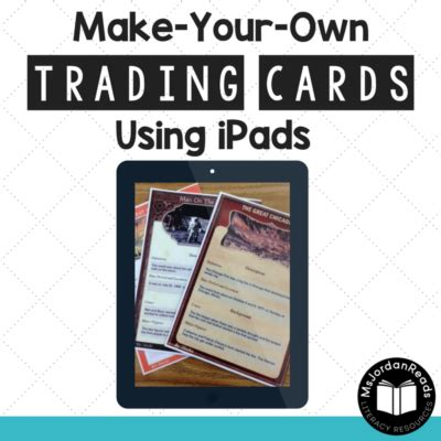 make your own trading cards free comprehension archives msjordanreads