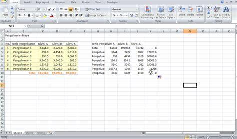 langkah membuat grafik di excel cara membuat grafik waterfall dengan excel