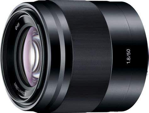 Sony E 50mm F1 8 Oss Black sony sel50f18b sony e 50mm f1 8 black oss sony nex 專用