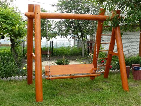 rustic garden swing garden swings the enchanting element in your backyard