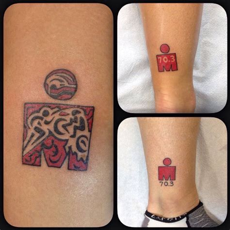 half ironman tattoo designs celebrate your accomplishments independent