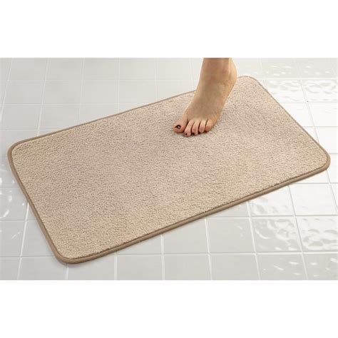 mat bathroom microfiber bath mat 293033 bath at sportsman s guide