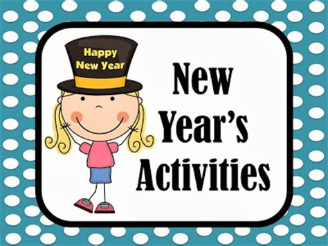 new year activities for elementary school new years activities fern smith s classroom ideas