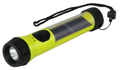 solar flash light hybrid light shines the way for boy scouts with solar
