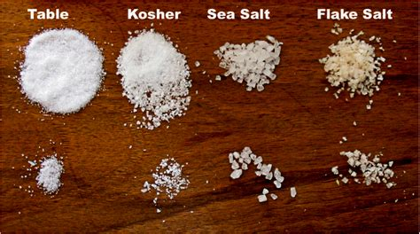 1 teaspoon kosher salt to table salt notes from the selmelier kosher salt what is it and
