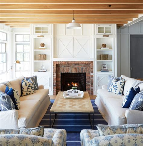 decorating with blue 10 white rustic rooms the honeycomb home