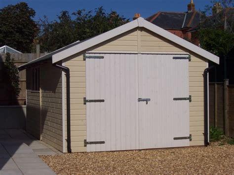 single garage iow timber garages chillerton apex single garage range