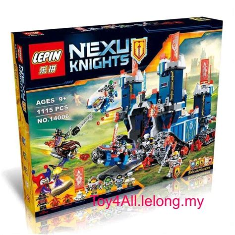 Sale Bricks Blocks Besarrr Nexu Knights Lepin 14021 lepin nexo knights 70317 the fortre end 10 21 2018 7 10 pm