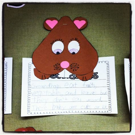 groundhog day decorations miss kindergarten groundhog day february craft