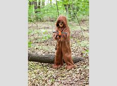 Deluxe Star Wars Chewbacca Costume for Kids Girl Scarecrow Costume