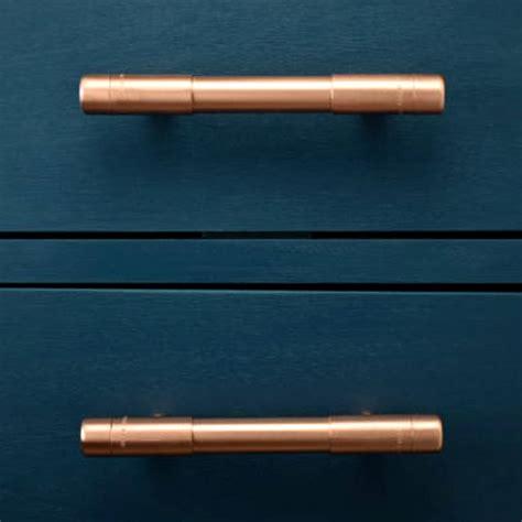 chunky copper t bar pull by proper copper design