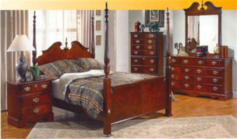 cherry bedroom suite jamestown cherry suite