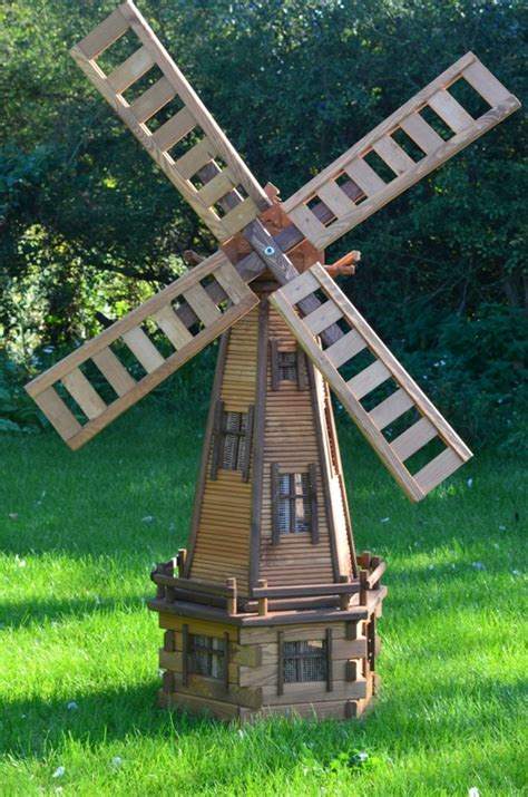 Garden Windmill by Windmills Garden Ornaments Handmade Wooden Products