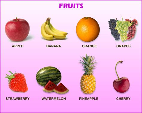 fruit with h learn poem song fruit names